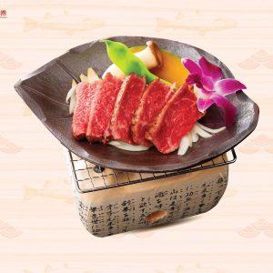 Bò Wagyu nướng chảo