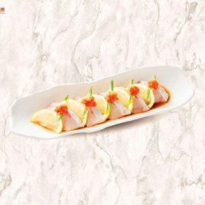 Sashimi cá cam nhật kiểu ý