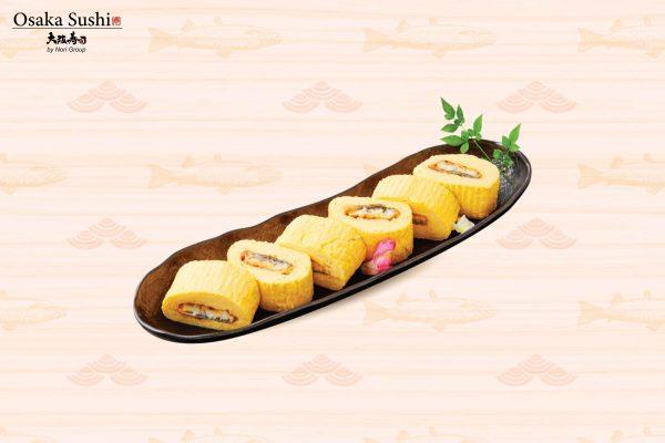 Trứng cuộn lươn biển kiểu nhật