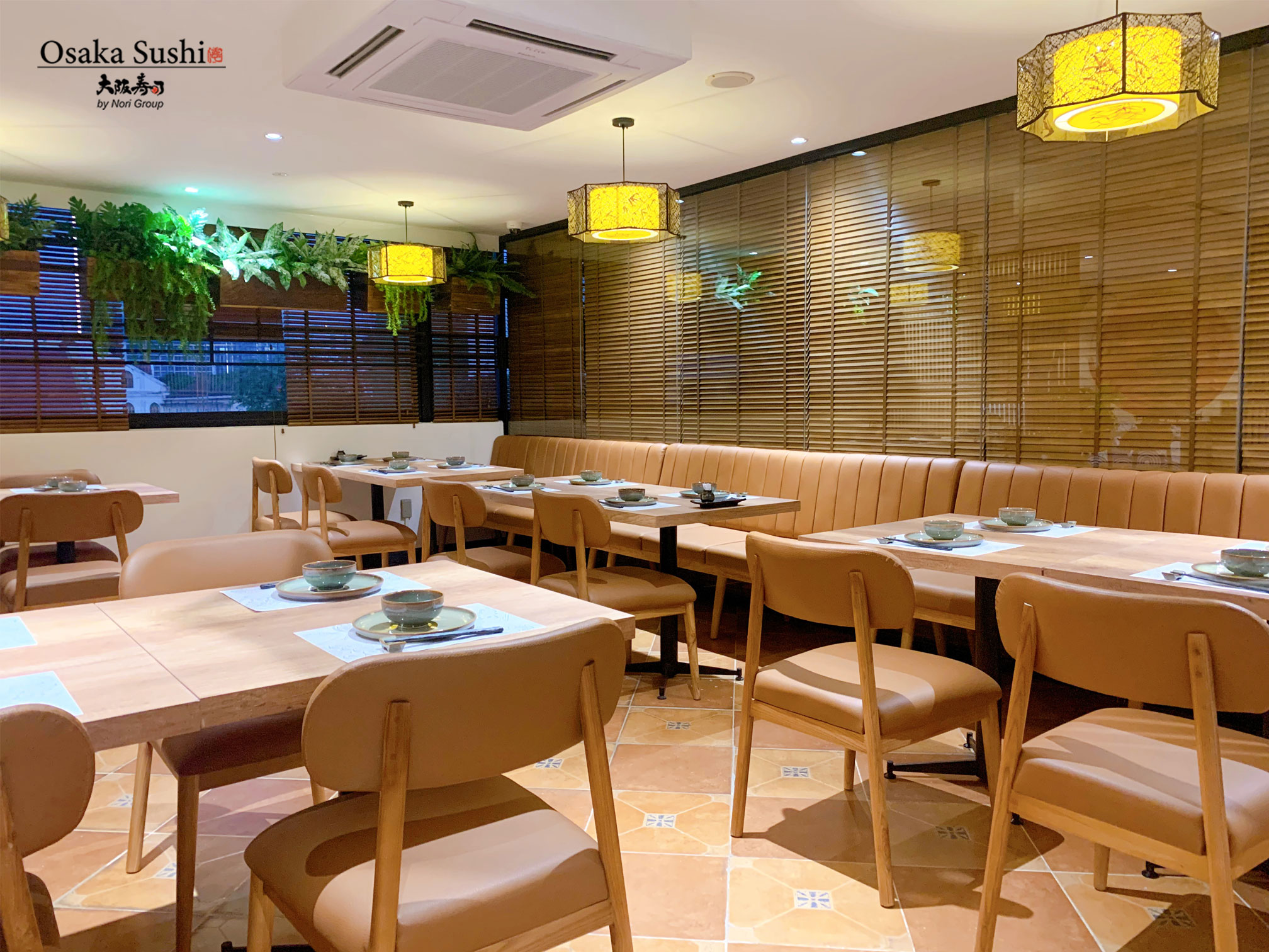 Không gian tầng 2 nhà hàng Osaka Sushi