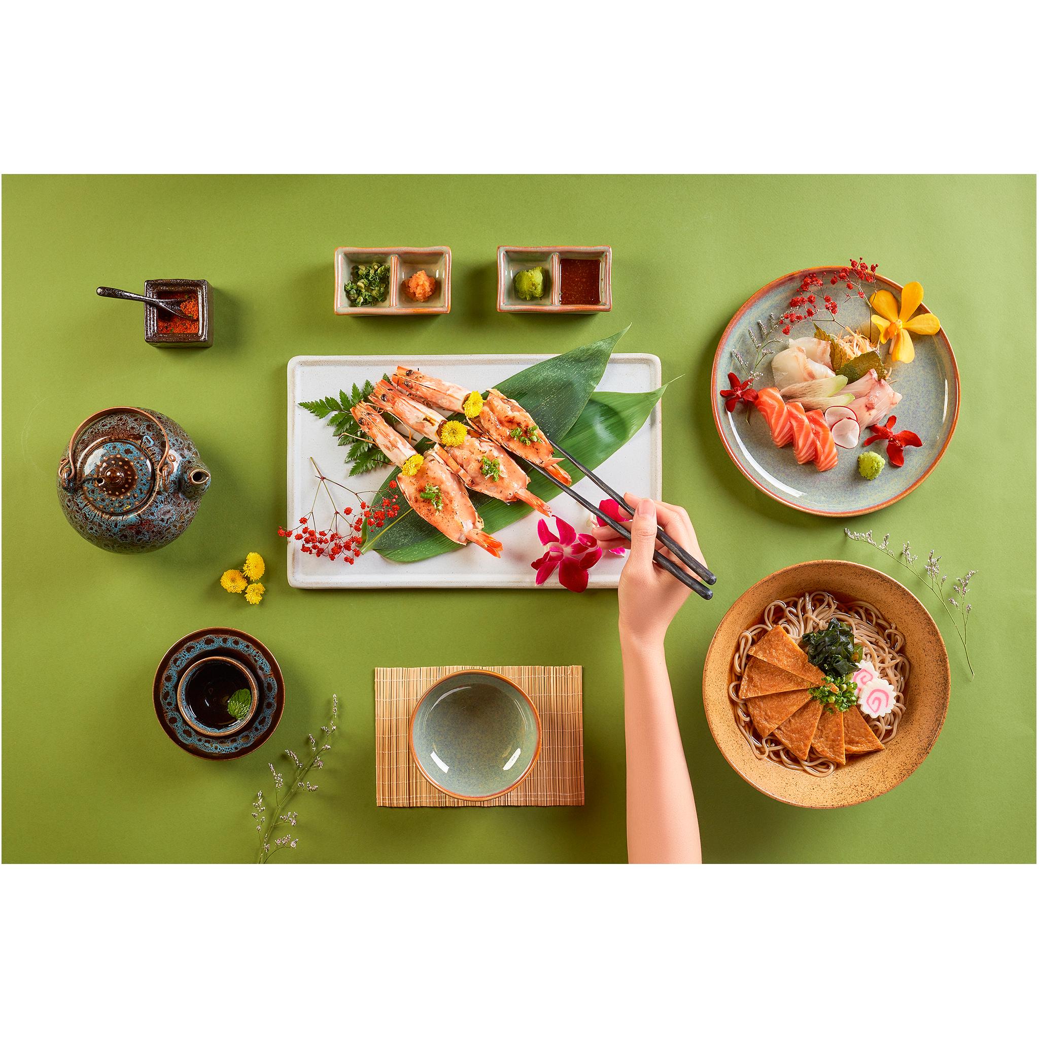 Menu nhà hàng Osaka Sushi
