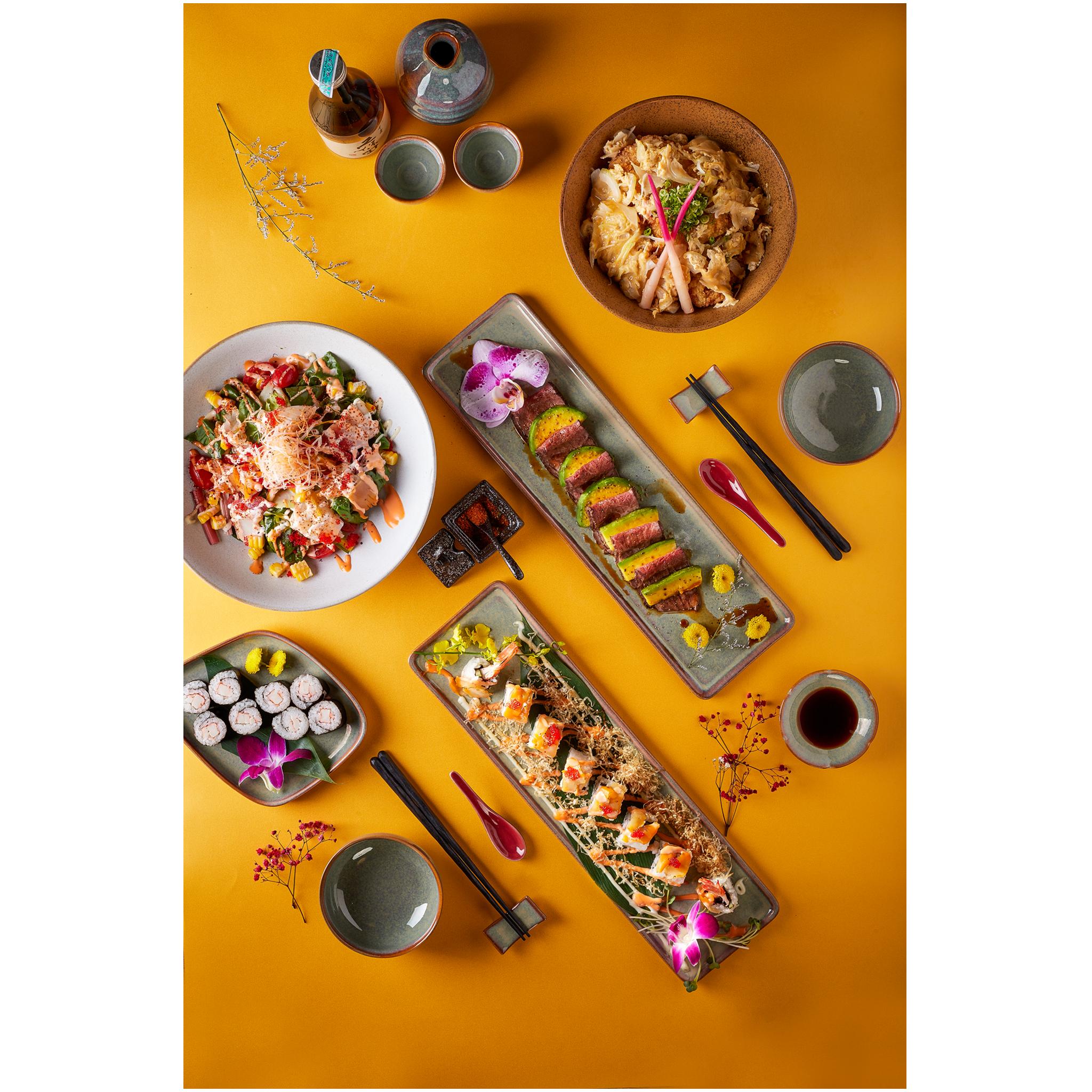 Menu nhà hàng Osaka Sushi chuẩn Nhật Tại Tp.HCM