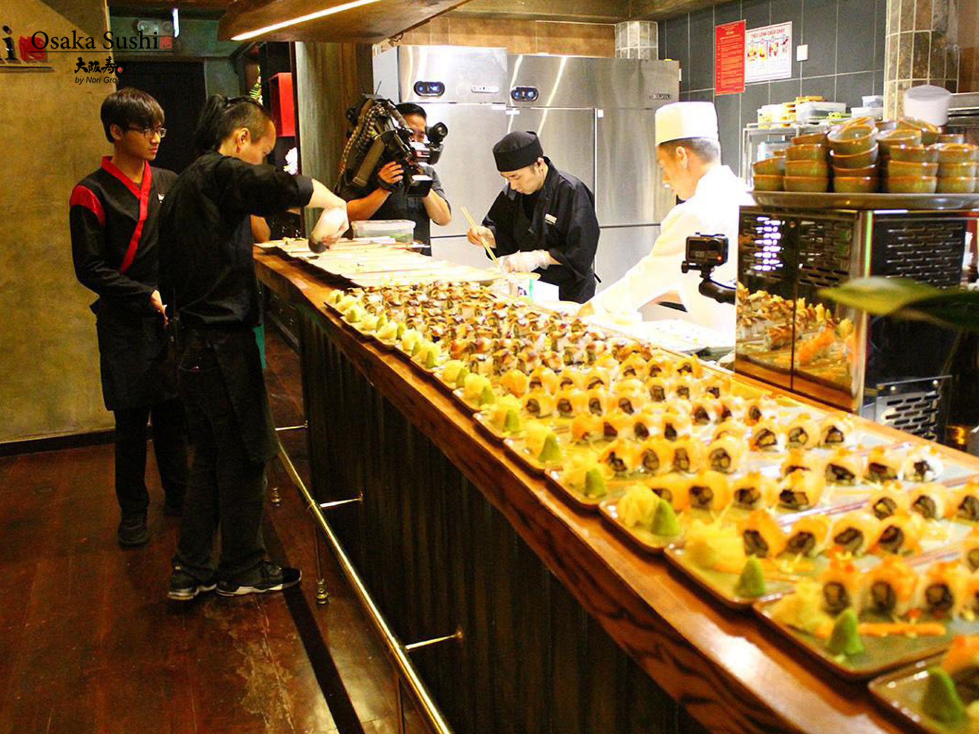 Giới thiệu ẩm thực Nhật Bản tại nhà hàng Osaka Sushi