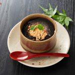 Black sesame cake