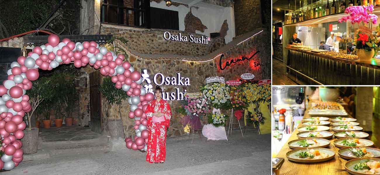 Hướng dẫn điểm đến nhà hàng Osaka Sushi