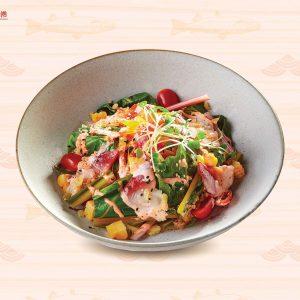 Mentaimayo salad