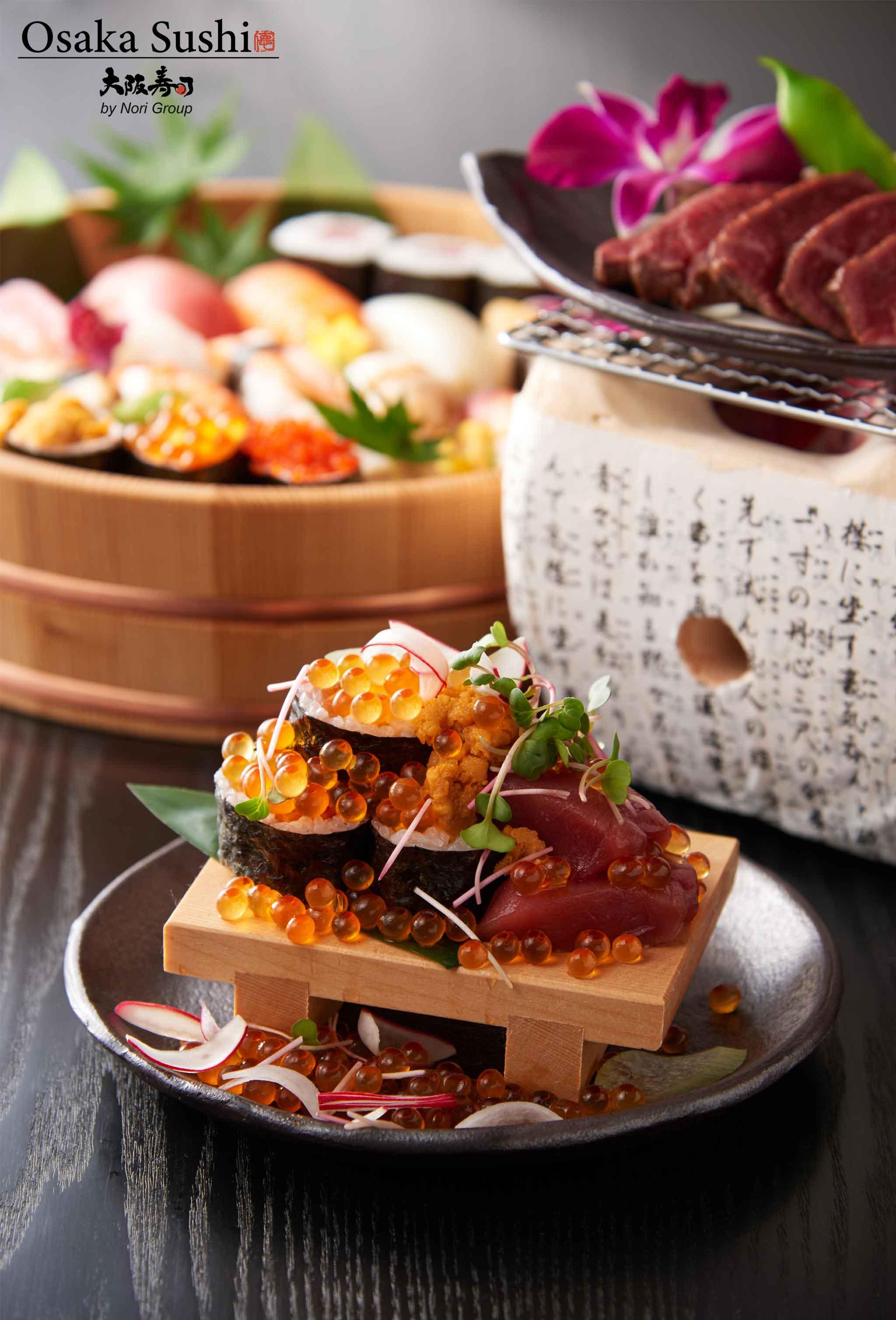Osaka sushi rectaurant