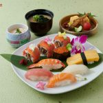 Special sushi lunch