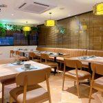 Japanese Osaka Sushi restaurant space